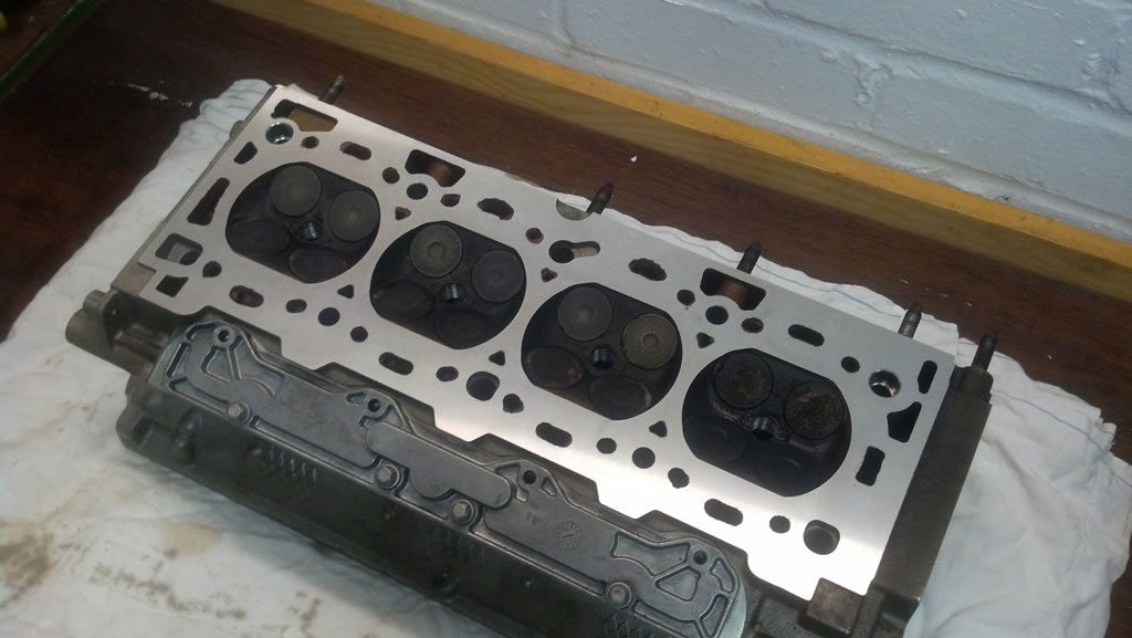 The finished cylinder head after a minimal skim
