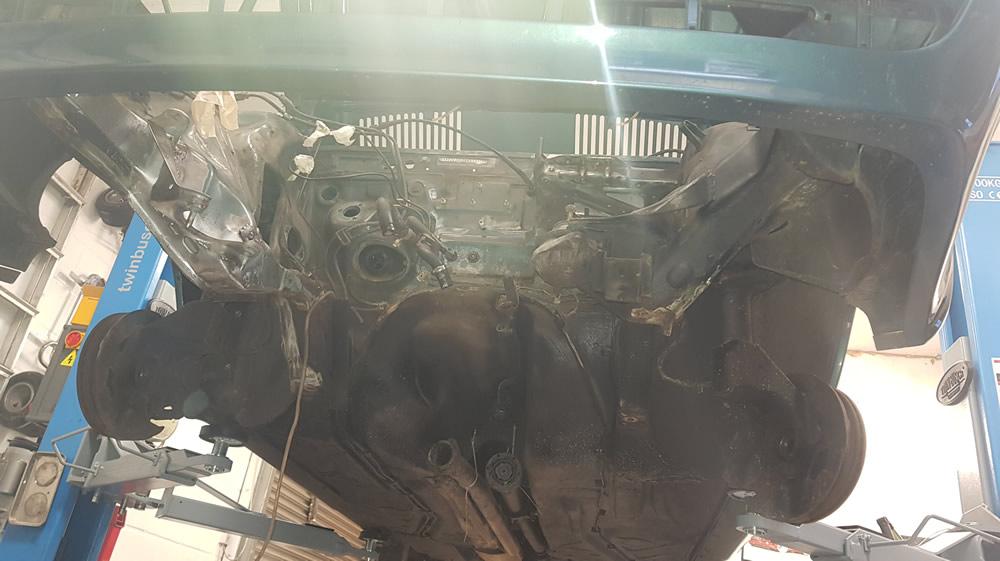 Audi 90 Quattro front end rebuild, engine rebuild, gearbox rebuild