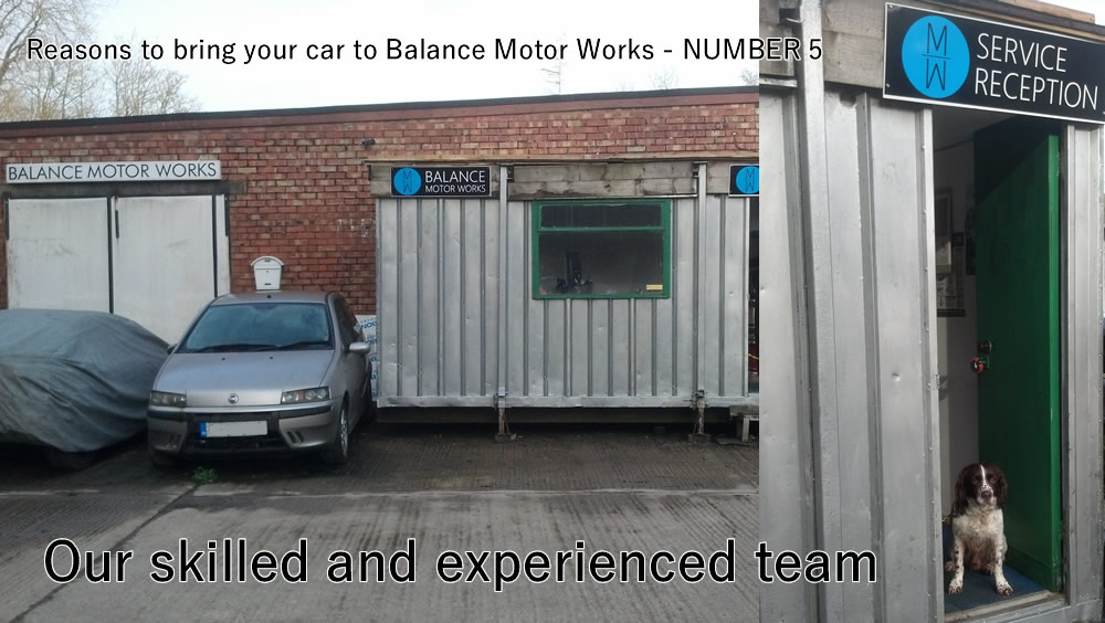 Reasons to bring your car to Balance MOtor Works Number 5