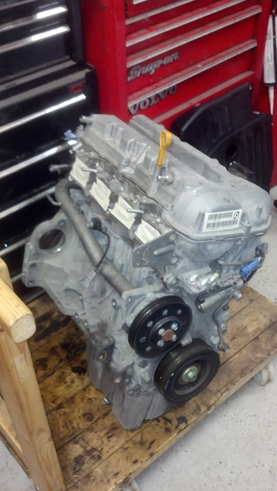 Second hand engine we sourced for the customer